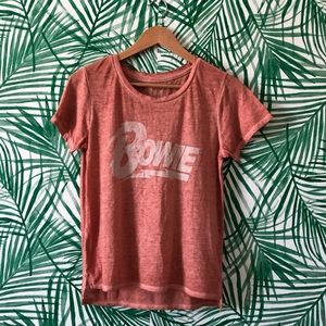 Lucky Brand David Bowie Graphic T-Shirt Small